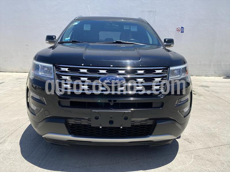 Ford Explorer LIMITED V6 usado (2017) color Negro precio $510,000