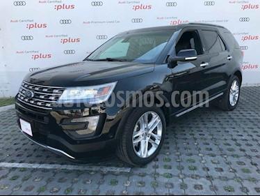 Ford Explorer 5p Limited V6/3.5 Aut usado (2016) color Negro precio $420,000