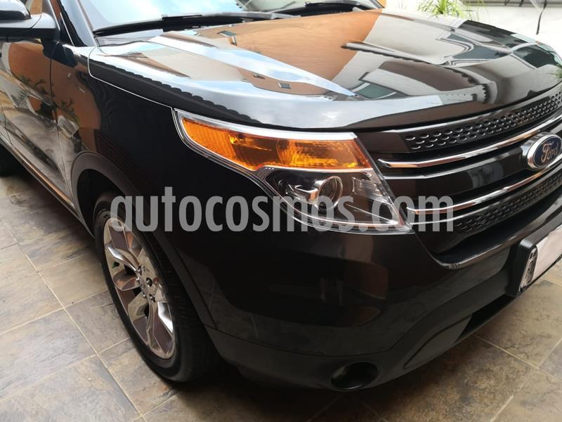 Ford Explorer Limited 4x4 3.6L  usado (2013) color Negro Profundo precio $295,000