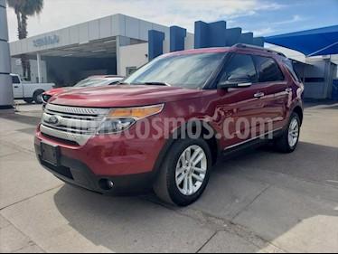 Ford Explorer XLT Piel usado (2015) color Rojo precio $298,000