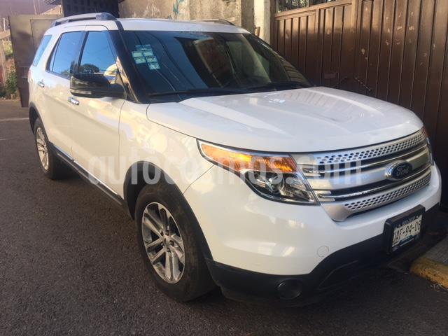 Ford Explorer XLT Piel usado (2015) color Blanco precio $270,000