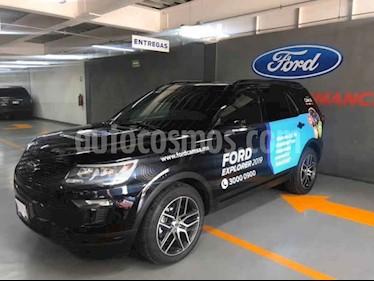 Ford Explorer Sport 4x2 Aut usado (2019) color Negro precio $848,000