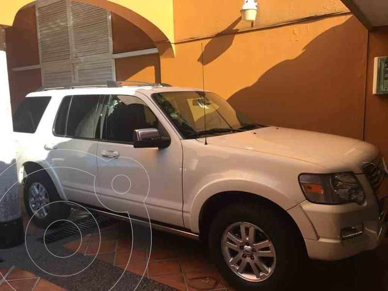 Ford Explorer Limited 4x2 4.6L V8 usado (2009) color Blanco precio $130,000