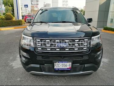 Ford Explorer LIMITED V6 usado (2017) color Negro precio $550,000