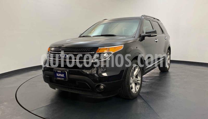 Ford Explorer Limited 4x2 3.6L  usado (2015) color Negro precio $362,999