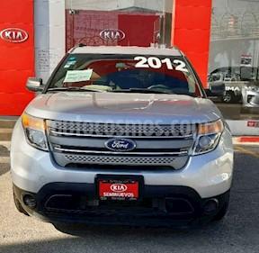 Foto Ford Explorer XLT Base  usado (2012) color Plata precio $215,000