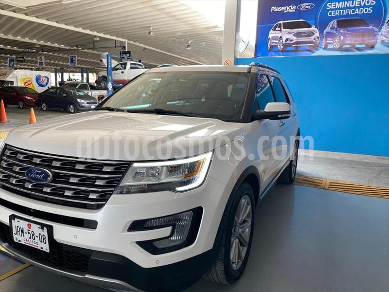 Ford Explorer Limited  usado (2017) color Blanco precio $499,900