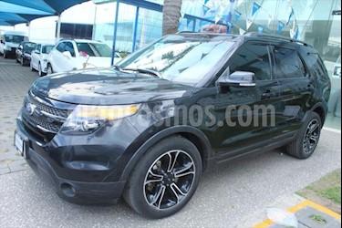 Ford Explorer SPORT V6/3.5 GTDI AUT usado (2015) color Negro precio $385,000