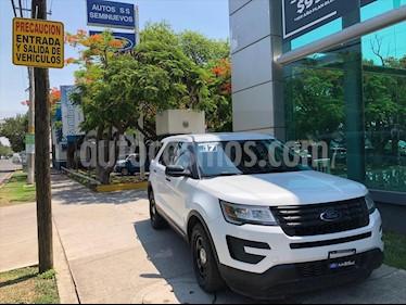Ford Explorer XLT V6 usado (2017) color Blanco precio $549,000