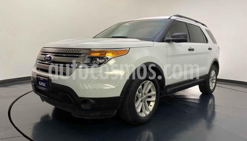 Ford Explorer XLT usado (2014) color Blanco precio $249,999