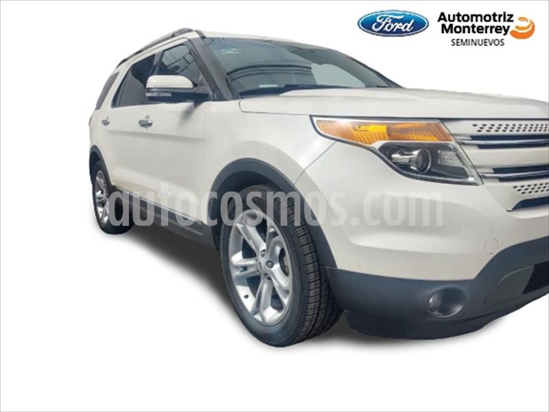 Ford Explorer Limited  usado (2015) color Blanco precio $349,900