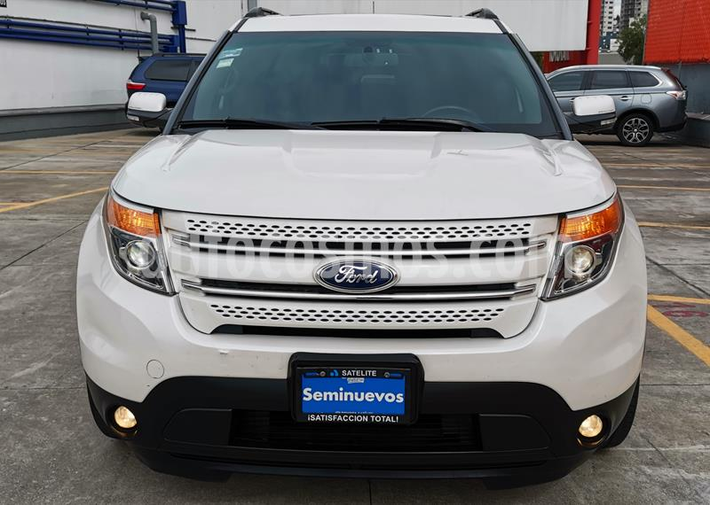 Ford Explorer Limited usado (2015) color Blanco Platinado precio $345,000