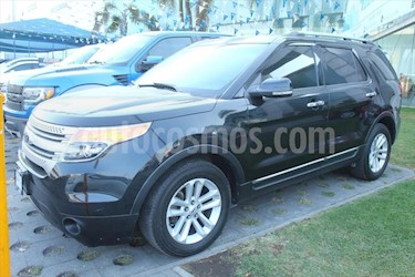Ford Explorer XLT Piel usado (2013) color Negro precio $260,000