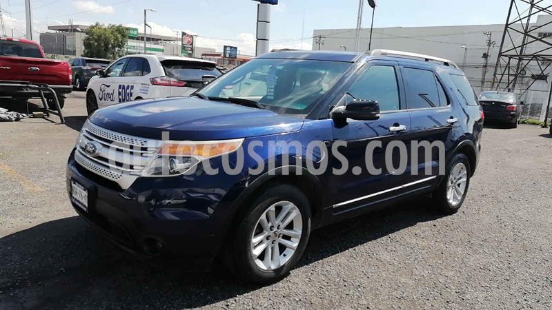 Ford Explorer XLT 4x2 4.6L V8 3er. seat usado (2011) color Azul precio $210,000