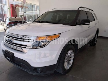 Ford Explorer 5p Limited V6 4x2 doble a/a DVD usado (2013) color Blanco precio $230,000