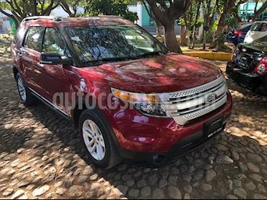 Ford Explorer XLT Tela usado (2015) color Rojo precio $310,000