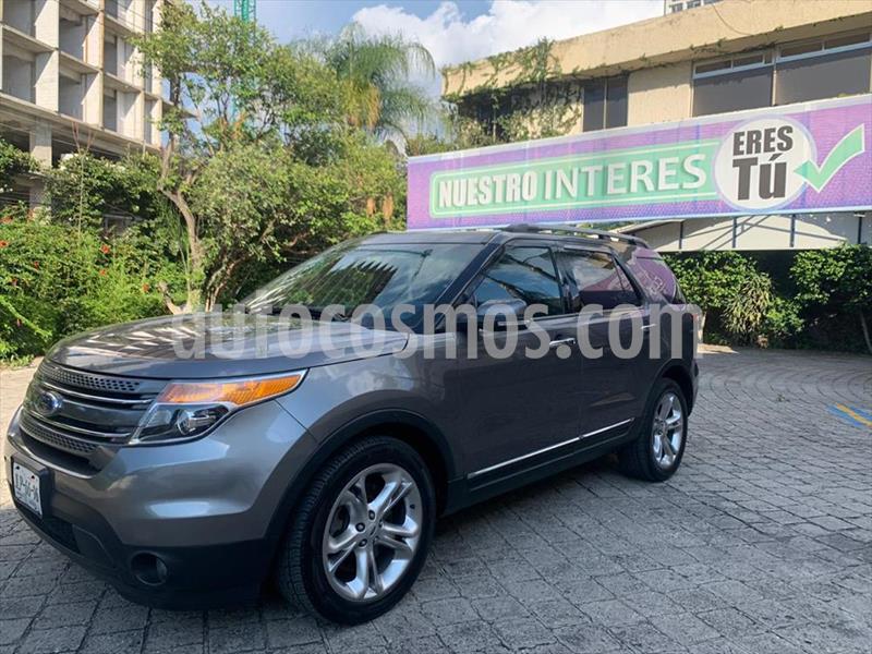 Ford Explorer Limited  usado (2014) color Gris Oscuro precio $339,000