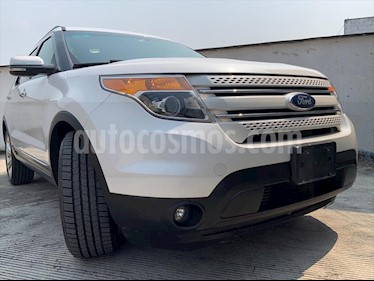 Ford Explorer LIMITED V6 usado (2013) color Blanco precio $229,999