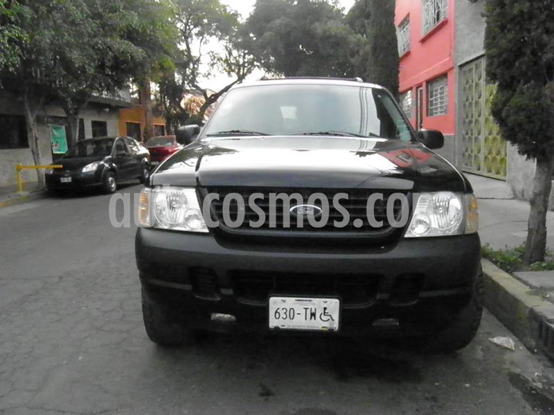 Ford Explorer XLS 4x2 4.0L  usado (2005) color Negro precio $95,000