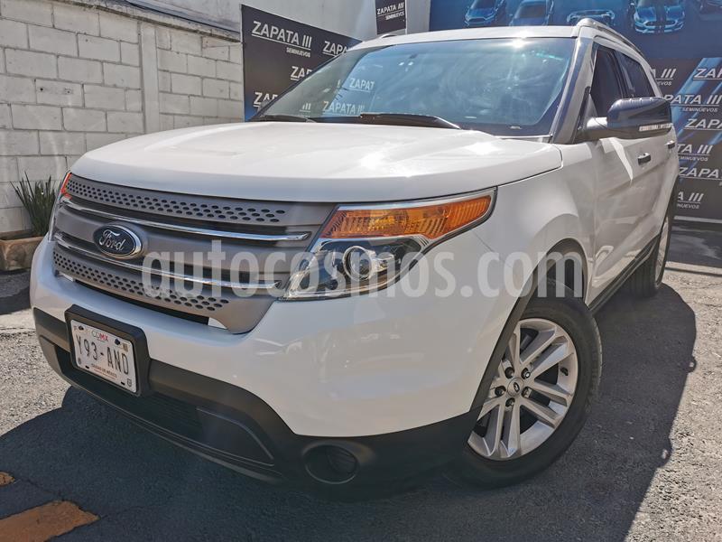 Ford Explorer XLT usado (2014) color Blanco precio $265,000