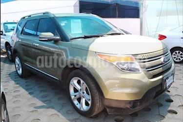 Ford Explorer Limited  usado (2013) color Verde precio $265,000