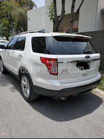 Ford Explorer Limited 4x2 3.6L  usado (2014) color Blanco Platinado precio $285,000