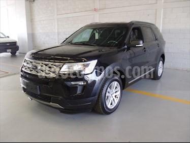 Ford Explorer XLT usado (2019) color Negro precio $770,300