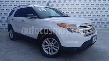 Ford Explorer XLT Piel usado (2013) color Blanco precio $225,000