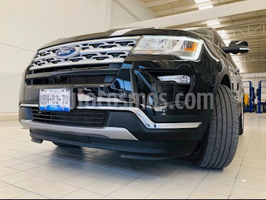 Ford Explorer Limited 4x2 3.6L  usado (2019) color Negro Profundo precio $630,000