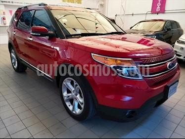 Ford Explorer LIMITED V6/3.5 AUT usado (2015) color Rojo precio $343,000