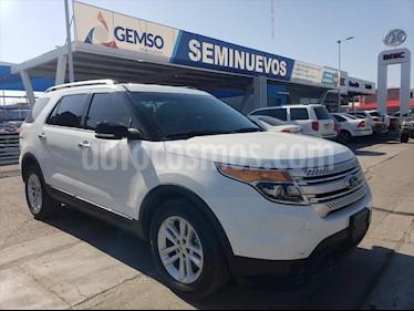 Ford Explorer XLT Piel usado (2014) color Blanco precio $260,000