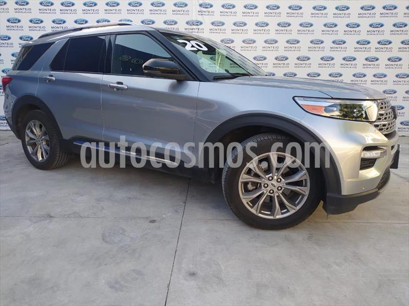 Ford Explorer LIMITED RDW usado (2020) color Gris precio $878,000