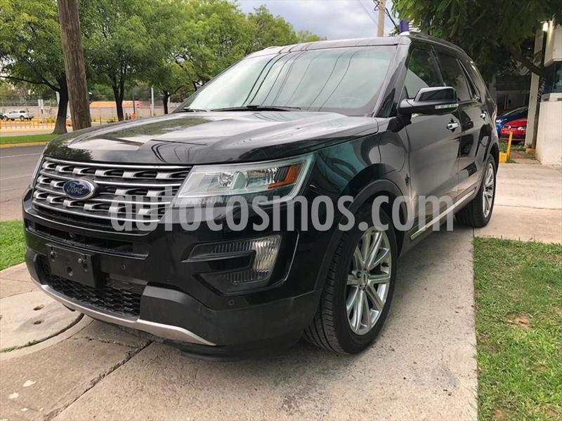 Ford Explorer LIMITED V6 usado (2016) color Negro precio $389,000