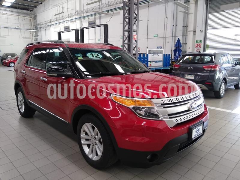 Ford Explorer XLT usado (2012) color Rojo precio $270,000