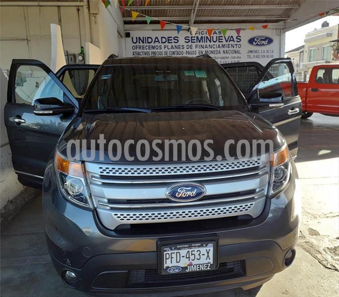 Ford Explorer XLT V6/3.5 AUT usado (2015) color Gris precio $285,000