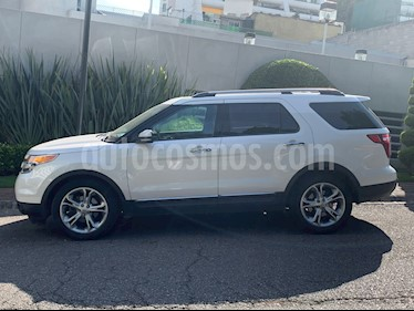 Ford Explorer Limited  usado (2013) color Blanco Sueco precio $259,000