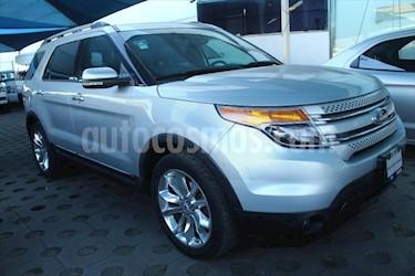 Ford Explorer Limited  usado (2013) color Plata precio $269,000