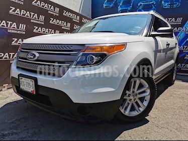 Ford Explorer XLT usado (2015) color Blanco Oxford precio $270,000