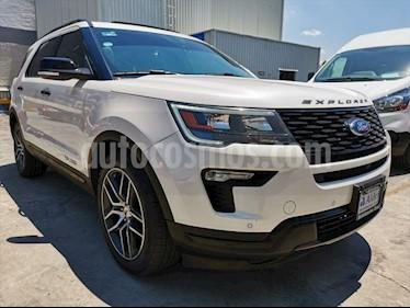 Ford Explorer Sport 4x4 usado (2019) color Blanco precio $686,000