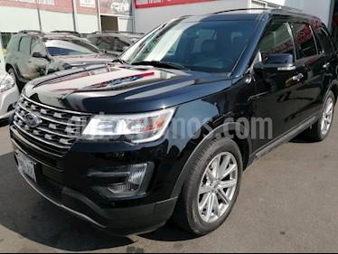 Ford Explorer Limited 4x2 4.0L  usado (2016) color Negro precio $400,000