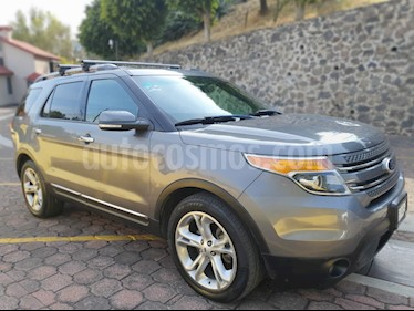 Ford Explorer Limited 4x2 3.6L  usado (2013) color Plata precio $239,900