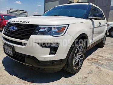 Ford Explorer Sport 4x4 usado (2019) color Blanco precio $688,000