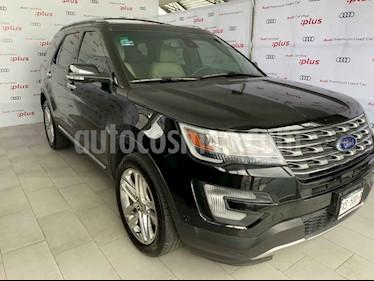 Ford Explorer Limited 4x4  usado (2017) color Negro precio $495,000