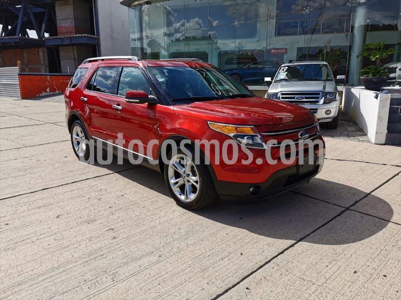 Ford Explorer Limited  usado (2015) color Rojo precio $325,000