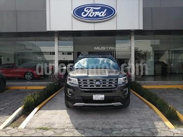 Ford Explorer XLT Tela usado (2016) color Gris precio $339,000