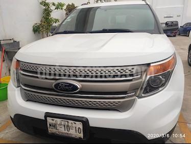 Ford Explorer XLT usado (2014) color Blanco precio $232,900