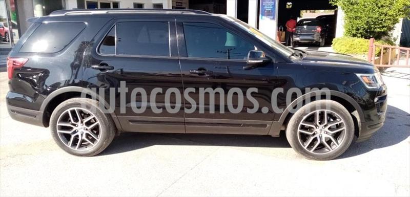 Ford Explorer SPORT 4WD 3.5L GTDI usado (2018) color Negro precio $575,000