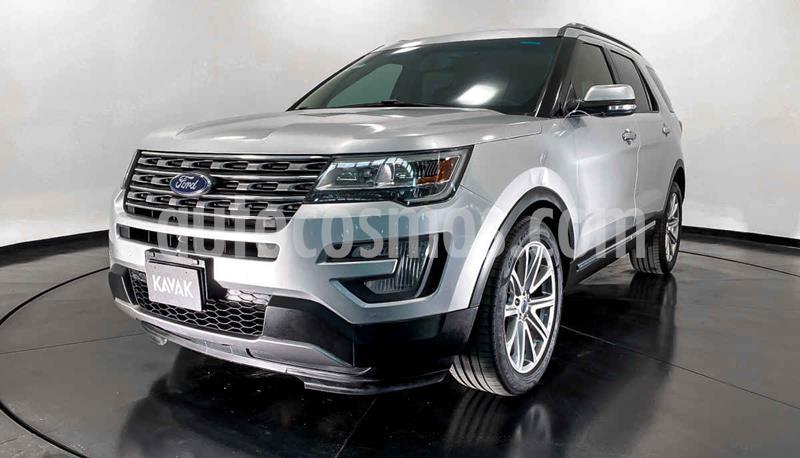 Ford Explorer Limited 4x4 3.6L  usado (2016) color Plata precio $507,999