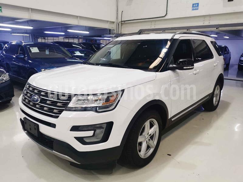 Ford Explorer XLT Base  usado (2017) color Blanco precio $419,100