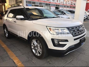 Ford Explorer LIMITED 4WD V6/3.5 AUT usado (2016) color Blanco precio $439,000